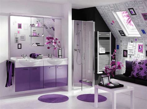 Awesome Purple Bathroom To Get The Ideas And Inspiration