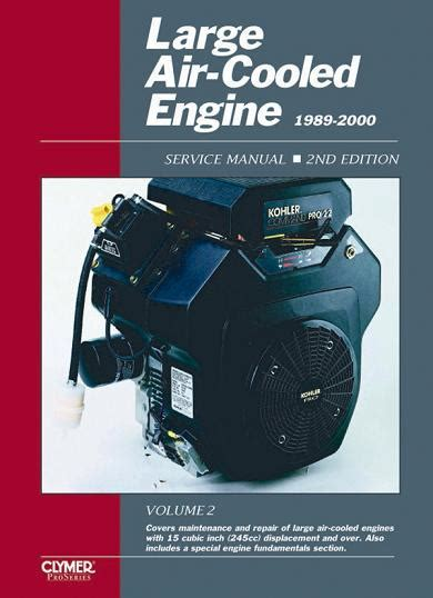 small engine repair manuals free download 2000 cadillac eldorado electronic valve timing 1989 2000 large air cooled engine service manual volume 2 2nd edition
