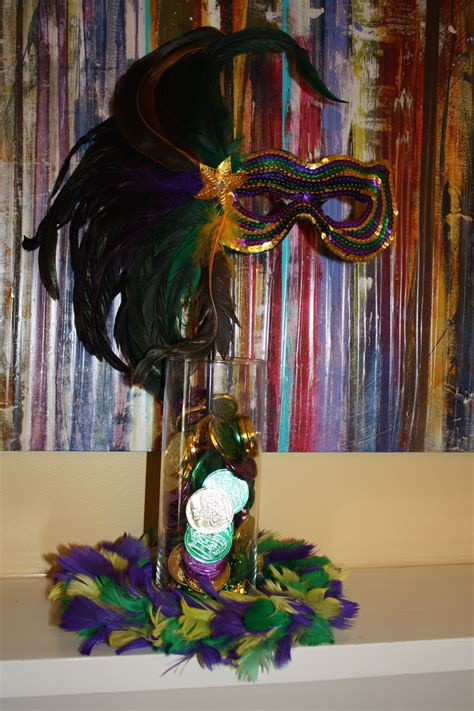 How To Make A Mardi Gras Centerpiece  Toulouse And Tonic