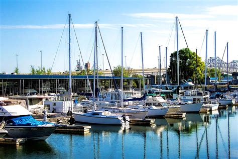 Small Boat Harbor by Decatur Alabama Small Boat Harbor Photograph By Kathy Clark