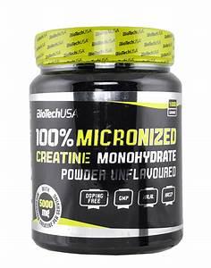 100  Micronized Creatine Monohydrate By Biotech Usa  1000 Grams    21 40