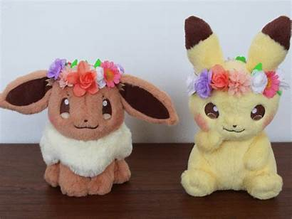 Eevee Easter Pikachu Pokemon Plush Plushies Center