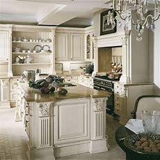 Elegant Cream Kitchen  Traditional Kitchen Design Ideas