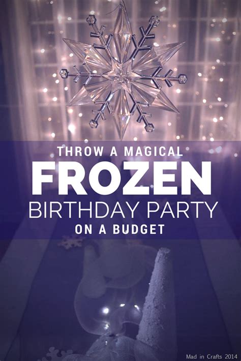 inexpensive frozen birthday party decorations dollar