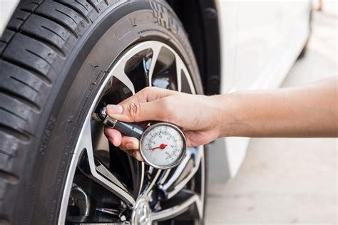 Checking And Maintaining Your Tires