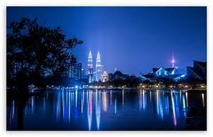 Kuala Lumpur Malaysia Petronas KL tower 4K HD Desktop ...