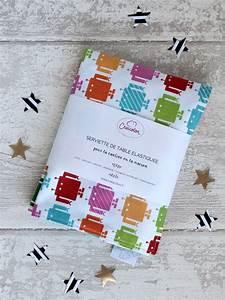 Serviette De Table Cantine : serviette lastique pour cantine nano creacoton ~ Teatrodelosmanantiales.com Idées de Décoration