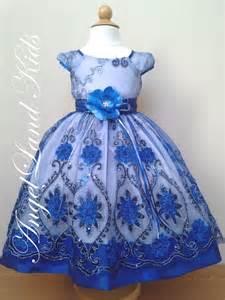 Blue Toddler Girl Easter Dresses