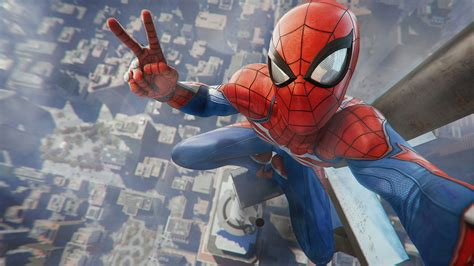 Spider Man Game Playstation 4 2018 4k Wallpapers Hd