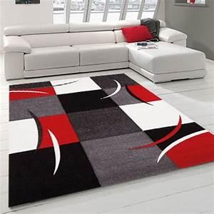 tapis gris et rouge achat vente tapis gris et rouge With tapis gris et rouge