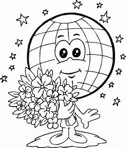 Earth Day Coloring Pages for Kids | Cool Images