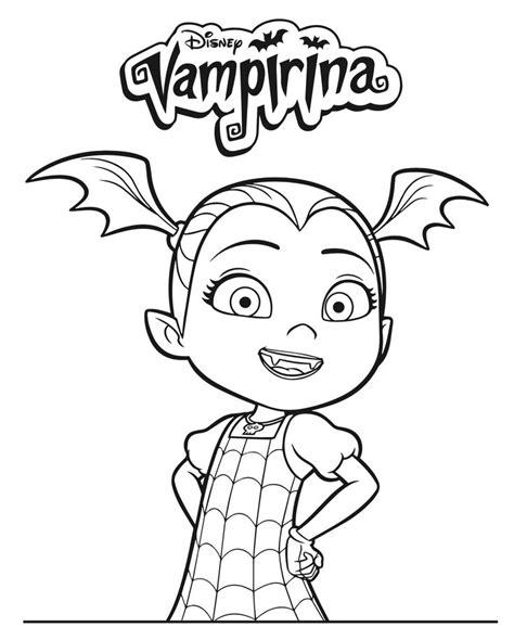 disney junior vampirina coloring pages dvd giveaway
