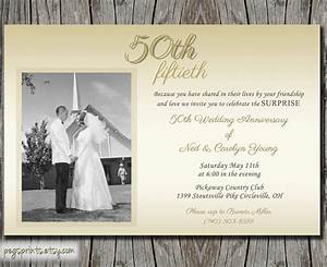 Golden wedding anniversary invitation golden wedding for Golden wedding invitations wording uk