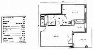 Appartement F2 Définition : plan d 39 un appartement t1 ~ Melissatoandfro.com Idées de Décoration
