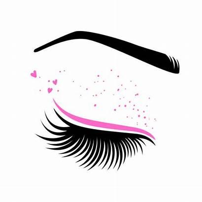 Clip Pink Lash Vector Brow Comb Makeup