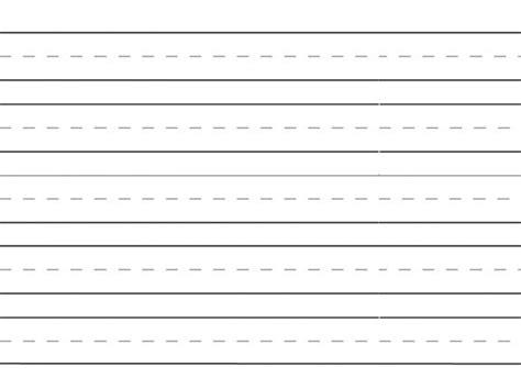 handwriting paper kindergarten hoffman