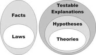 Venn Diagram Scientific Theories and Laws