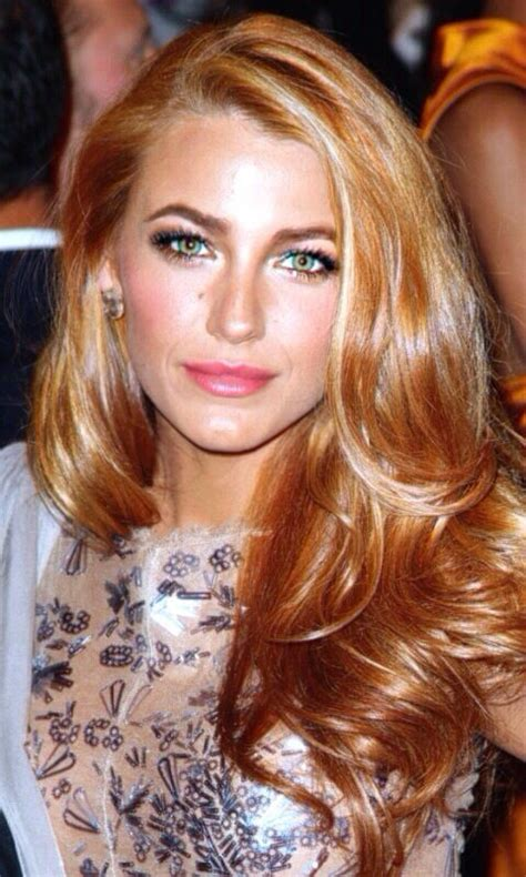 golden strawberry blonde hair style  color  woman