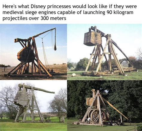 siege engines here 39 s what disney princesses would look like if they were