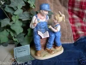 home interior denim days home interiors homco denim days grandpas figurine w tag 8894