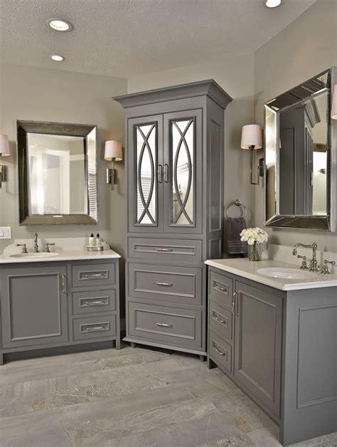 beautiful bathroom gauntlet gray cabinets master bath