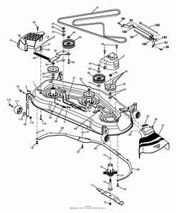33 Craftsman 54 Mower Deck Parts Diagram