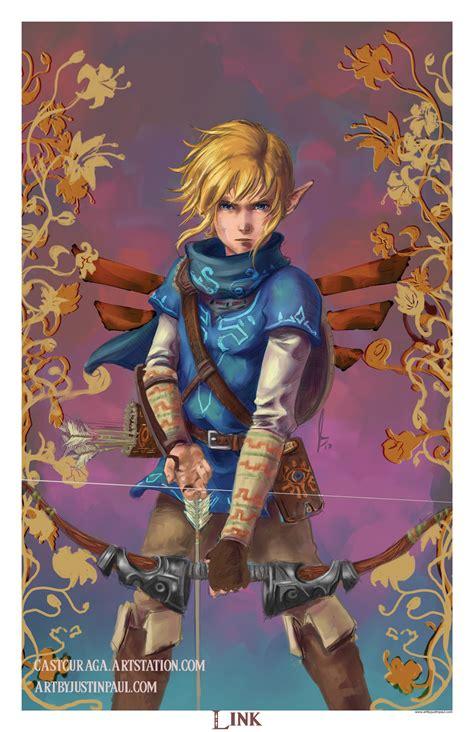 Artstation Link The Legend Of Zelda Breath Of The