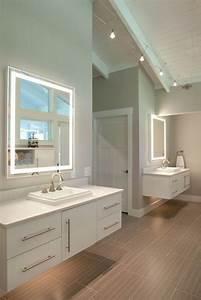 ou trouver le meilleur miroir de salle de bain avec With carrelage adhesif salle de bain avec ampoule led design
