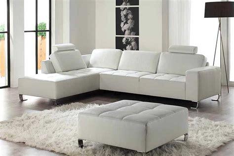 canapé cuir blanc angle canapé d 39 angle cuir blanc photo 9 15 ici on un beau