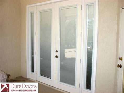 doors with odl enclosed blinds duradoors