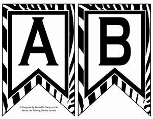 black printable letters black alphabet letters black With black letter banner