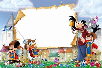 Frames Frame Transparent Musketeers Three Disney Clipart
