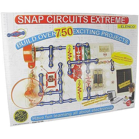 Snap Circuits Extreme With Interface Xump