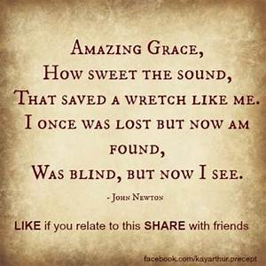 Amazing Grace Quotes. QuotesGram