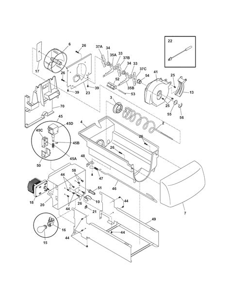 refrigerator parts kenmore refrigerator parts replacement