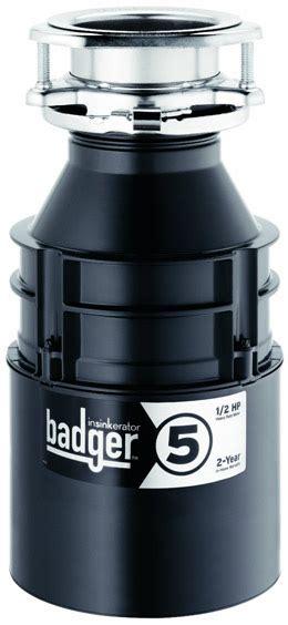 badger sink disposal not working insinkerator badger 5 garbage disposer review