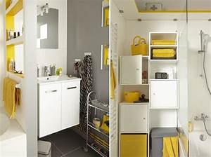 Decoration Petite Salle De Bain : 5 id es d am nagement pour une petite salle de bains ~ Dailycaller-alerts.com Idées de Décoration