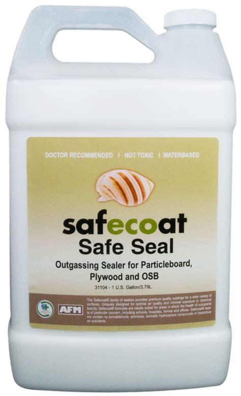 AFM SafeCoat, Safe Seal   Seal Off Gassing of Toxic