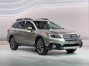 2015 Subaru Outback2014 New York Auto Show Live Photos