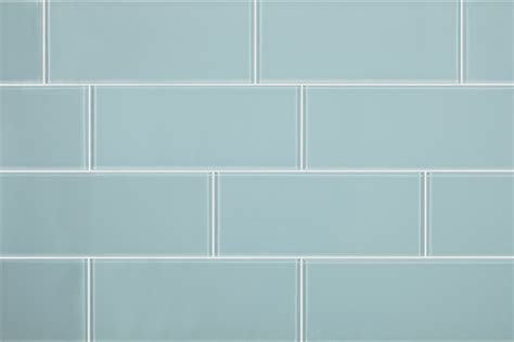 pale blue sofas 3 quot x8 quot aqua blue glass subway tiles set of 6
