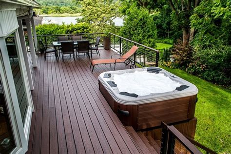 deck for a tub multi level deck design ideas home design ideas