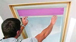 Rideaux à Poser Sur Fenêtres : poser un store sur une fen tre de toit ~ Premium-room.com Idées de Décoration
