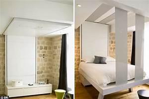Lit Escamotable Ikea : ikea lit escamotable plafond table de lit ~ Melissatoandfro.com Idées de Décoration
