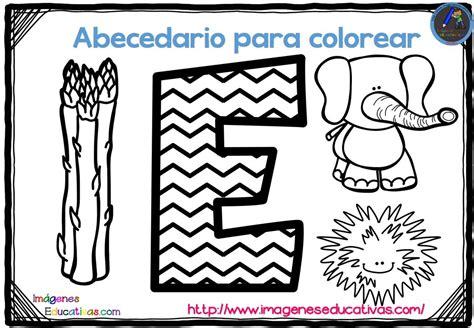 abecedario para colorear listo para descargar e imprimir zig zag 5 imagenes educativas