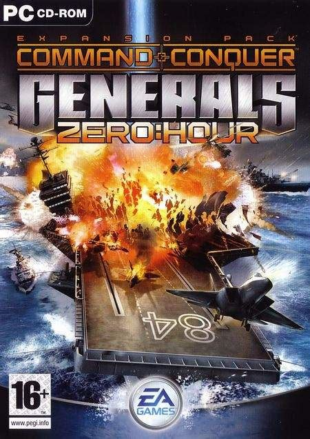 generals zero hour conquer command game games cc zh