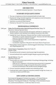 Resume ociate Environmental Specialist  Susan Ireland Resumes
