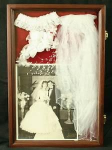 wedding dress shadow box wedding keepsake shadow box With wedding dress shadow box for sale