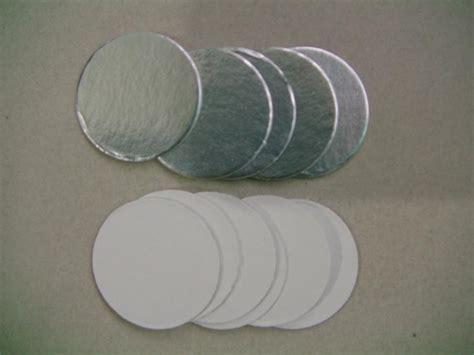 pe pet plastic medical bottles aluminum foil seals od cm container top cap sealingfood