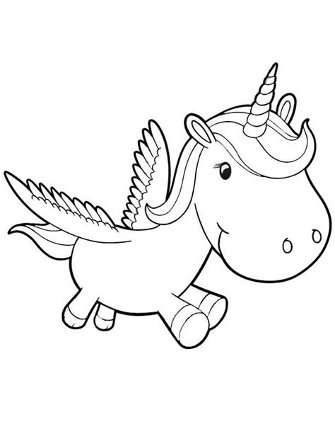 baby unicorn coloring pages coloring pages  kids