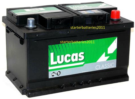 Lucas Lc100 Hd Calcium Silver Car Battery Type 100